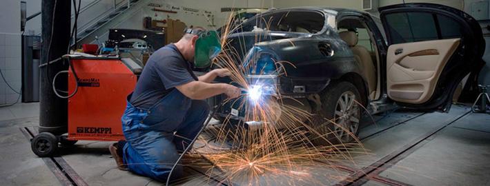 Новая технология ремонта пластиковых бамперов и деталей в «Автогарант+»