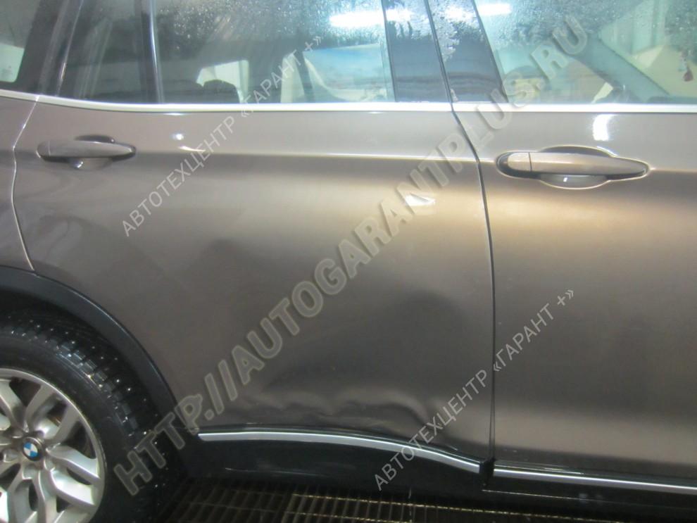 Ремонт двери и кузова BMW X3